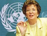 السيدة ماري روبنسون. المفوض السامي لحقوق الإنسان التابعة للأمم المتحدة، 1997 – 2002