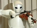 الإنسان الآلي عازف الكمان