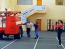 تدريب رجال الاطفاء